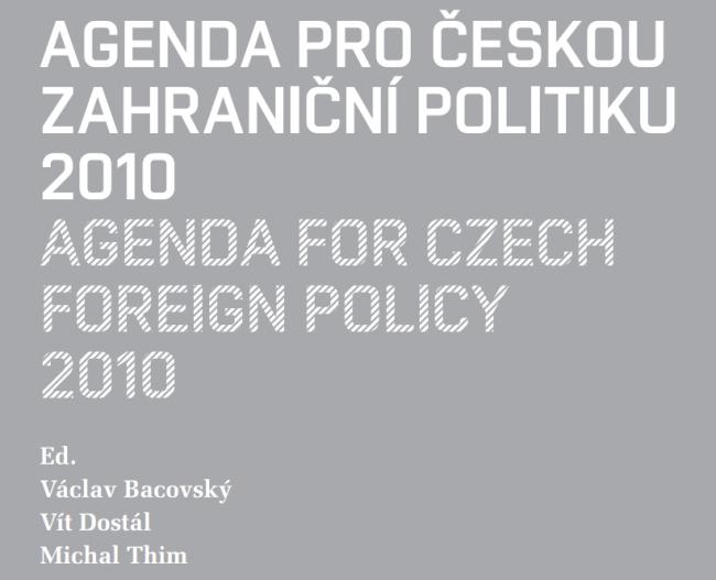 Agenda pro českou zahraniční politiku 2010