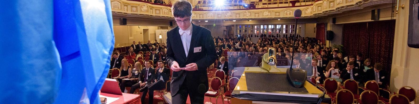 Závěrečná konference XXIII. ročníku Pražského studentského summitu