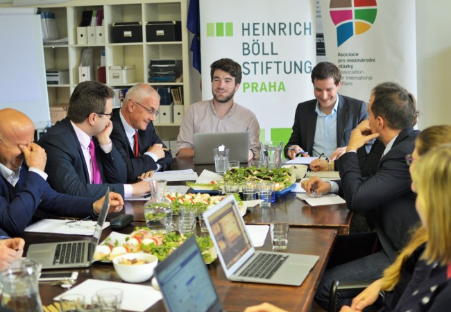 Check out the photos from the expert roundtable on Czech foreign policy towards China