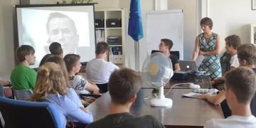 AMO zorganizovala workshop pro německé studenty o česko-německých vztazích