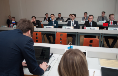IV. přípravné setkání XXII. ročníku Pražského studentského summitu