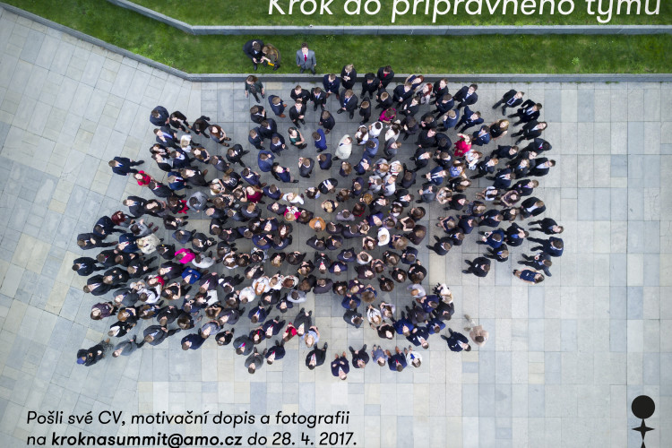 Krok do přípravného týmu XXIII. ročníku Pražského studentského summitu