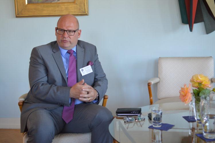 7. ročník ALYAS byl zakončen přednáškou Niklase Swanströma