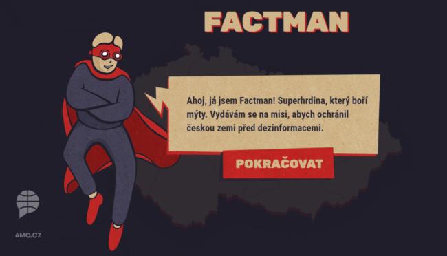 Víte, jak na Rusko, nebo se necháte snadno nachytat? Vyzkoušejte hru Factman