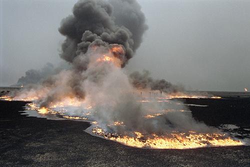Vliv ozbrojených konfliktů na životní prostředí