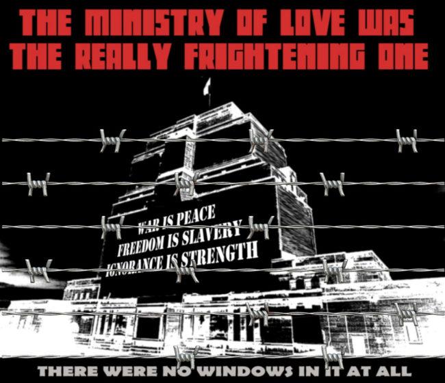 Orwell, propaganda, eufemismus
