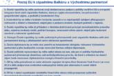 DOPORUČENÍ: Postoj EU k západnímu Balkánu a Východnímu partnerství
