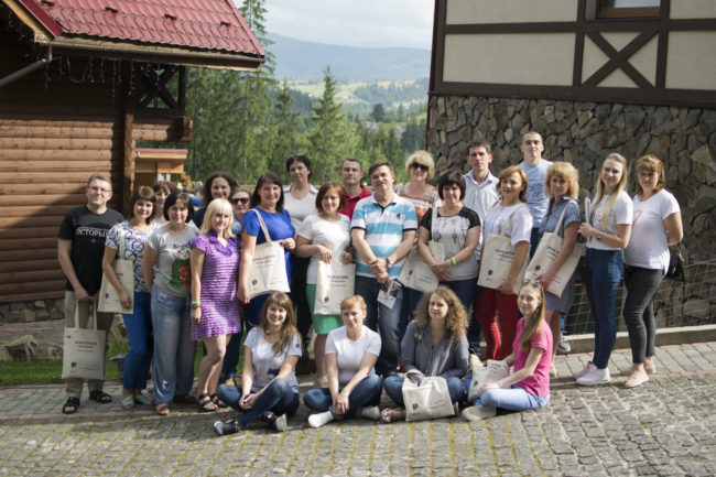 First AMO summer school in Ukraine was focused on oral history