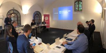Workshop V4 Energy Think Tank Platform v Praze