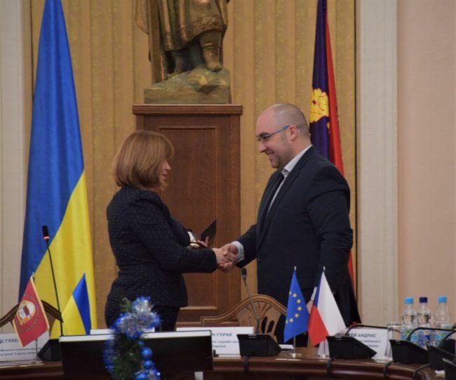 Ministerstvo školství a vědy Ukrajiny ocenilo realizátory projektu