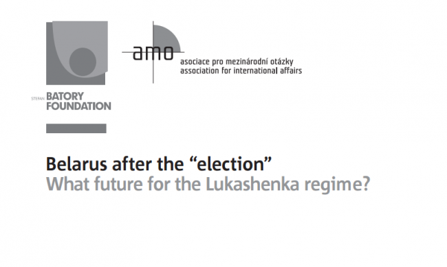 Belarus after the ''election'': What future for the Lukashenka regime?