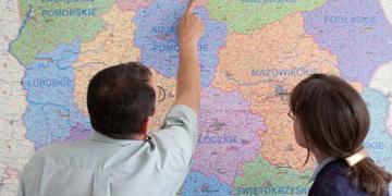 Putování po polské volební mapě