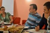 Pracovní snídaně s Dmytro Shulgou a Gustavem Gresselem