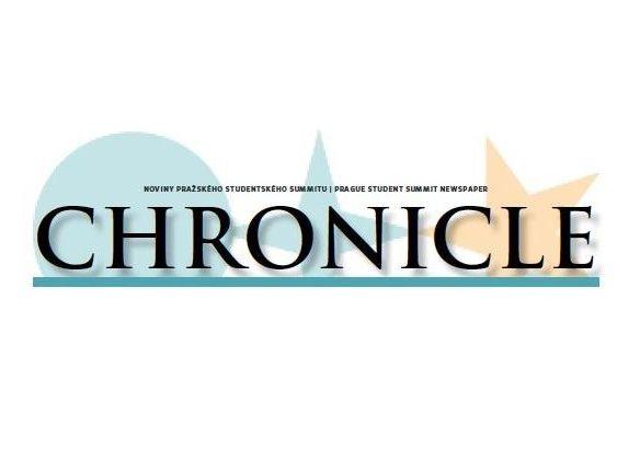 Noviny Chronicle - 1. číslo XXI. ročníku