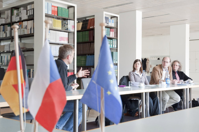 What is the Czech-German Young Professionals Program?