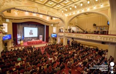 Slavnostní zahájení Závěrečné konference XXIV. ročníku Pražského studentského summitu