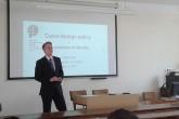 Vít Borčany přednášel o Východním partnerství v rámci Visegrad University Studies Grant
