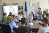 AMO organized workshops for German high school students about Czech-German relations