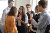 Desítky žáků základních škol si vyzkoušely role diplomatů