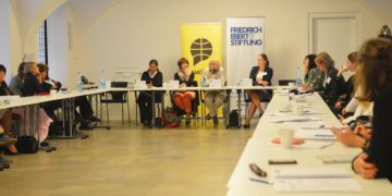 AMO organised a networking event for women engaging in foreign and European policy