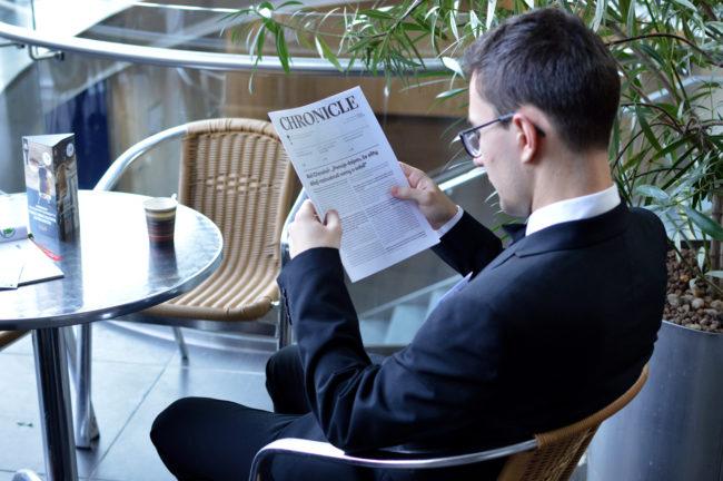 Noviny Chronicle - 3. číslo XXIII. ročníku