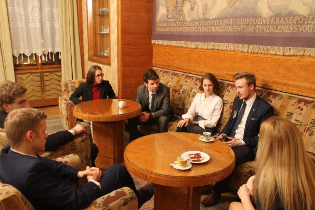 Pražský studentský summit na Praze 4