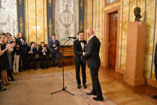 Účastníci Pražského studentského summitu navštívili Rezidenci primátora hlavního města Prahy