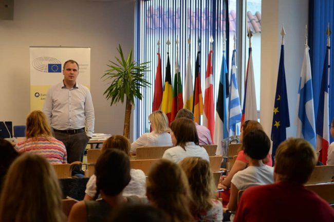 Our analysts lectured to the teachers of civic education