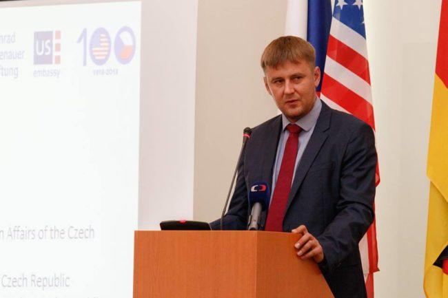První oficiální návštěva Petříčka v Polsku