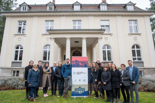 Proběhlo první setkání Česko-německých mladých profesionálů v Berlíně!