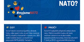 SOUTĚŽ pro studenty středních a vysokých škol: Ukaž, co pro Tebe znamená NATO