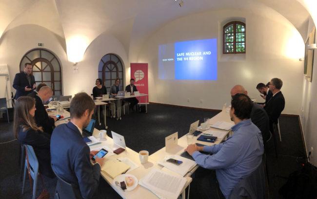 V4 Energy Think Tank Platform Workshop in Prague