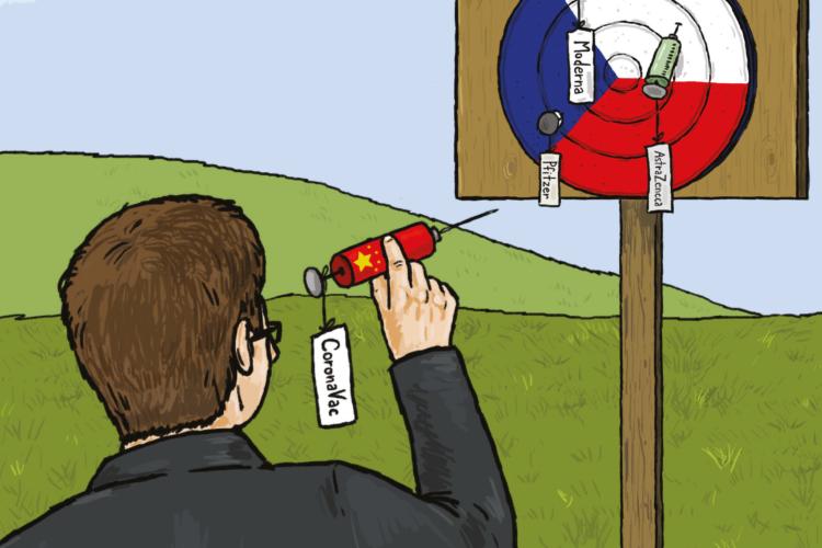Záchrana z východu? Debata o čínských vakcínách v České republice