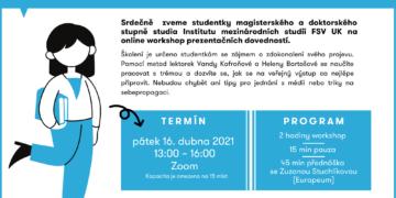 Public Speaking 1.0 Online: školení prezentačních dovedností pro mladé profesionálky