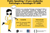 Public Speaking 1.0 pro studentky Politologie a Sociologie FF UHK